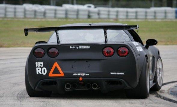 C6 Corvette Z06 GTC-500 Adjustable Wing APR