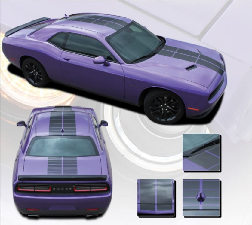 2008-2019 Challenger Pulse Stripe Kit