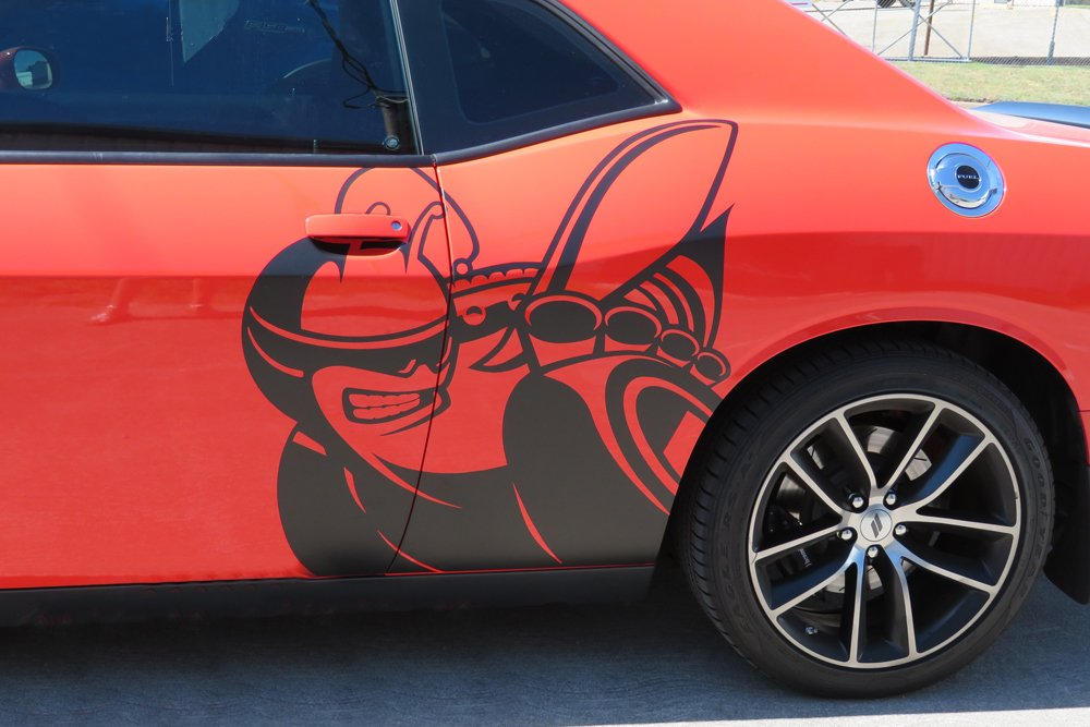 2008-2018 Dodge Challenger Super Bee Side Graphic