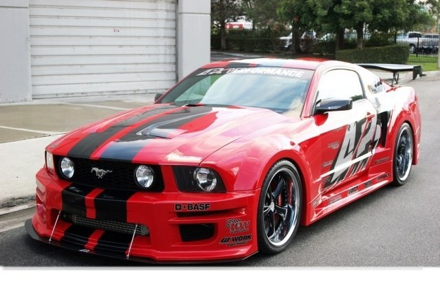 2010 2012 Ford Mustang Widebody Aerodynamic Kit Rpidesigns Com