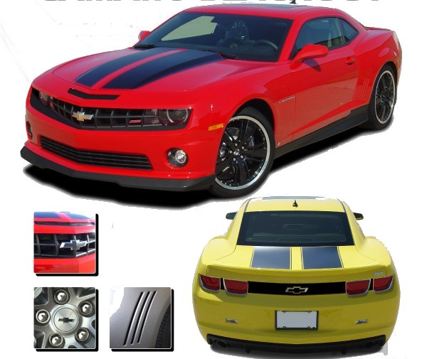 2010-2013 Camaro Blackout Kit