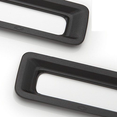 2010-2013 Camaro Reverse Light Surrounds - Black