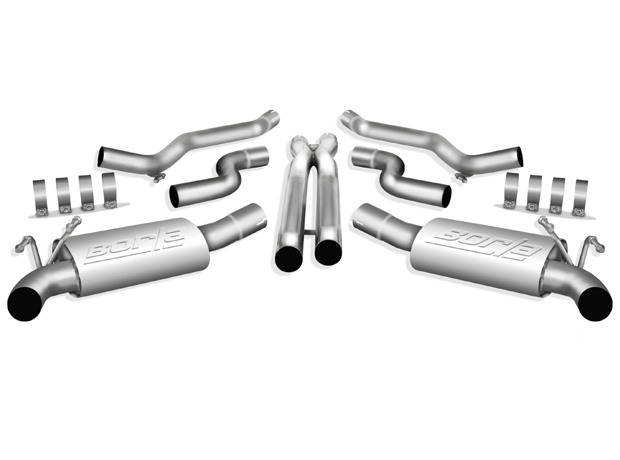 2010-2014 Camaro SS Ground Effects Borla Touring Cat Back Exhaust