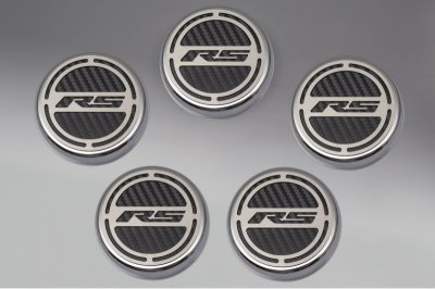 2010-2014 Camaro V6 Cap Cover Set RS Carbon Fiber