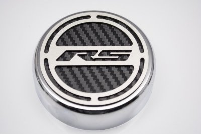 2010-2014 Camaro V6 Cap Cover Set RS Carbon Fiber-1