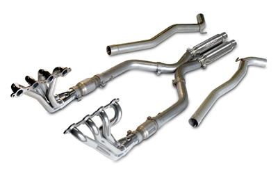 2010-2014 Camaro V8 Long Tube Header and X-Pipe Package