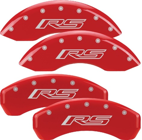 2010-2015 Camaro Caliper Covers with RS or Camaro Logo