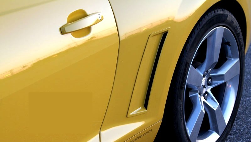 2010-2015 Camaro Lateral Rear Quarter Panel Ports Ducts by ACS