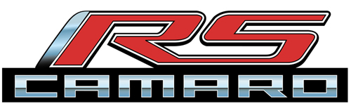 2010-2015 Camaro Metal Sign - RS Emblem