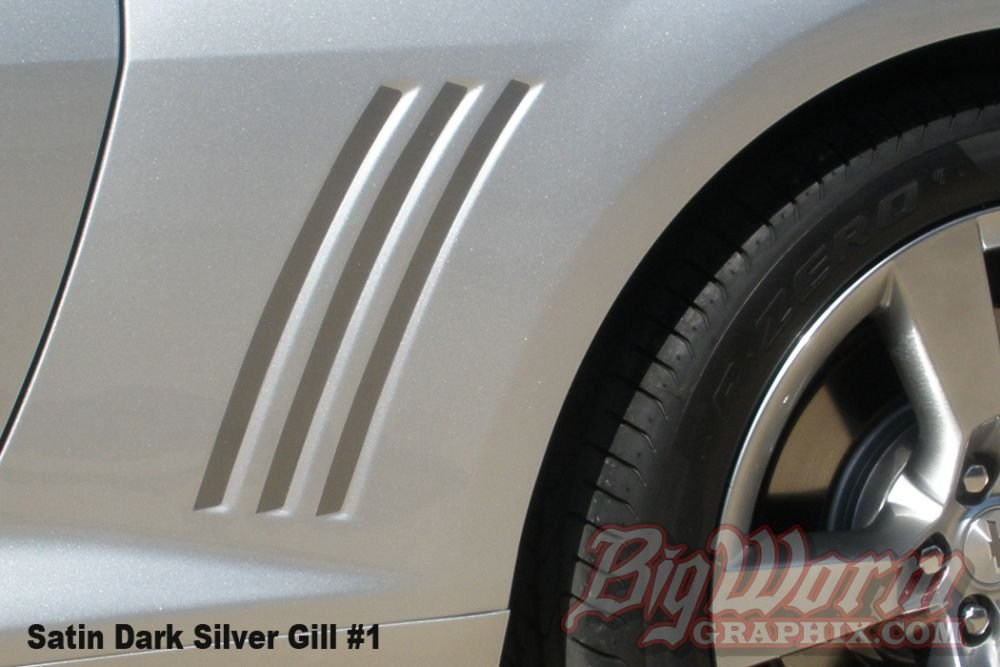 2010-2015 Camaro Side Gill Decals