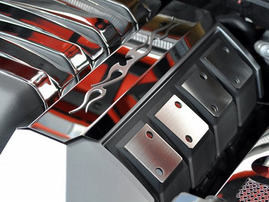 2010-2015 Camaro Stainless Steel Fuel Rail Covers