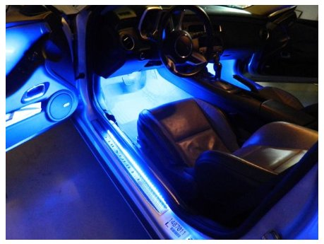 2010-2015 Camaro LED Door Sill Plate Lighting Kit