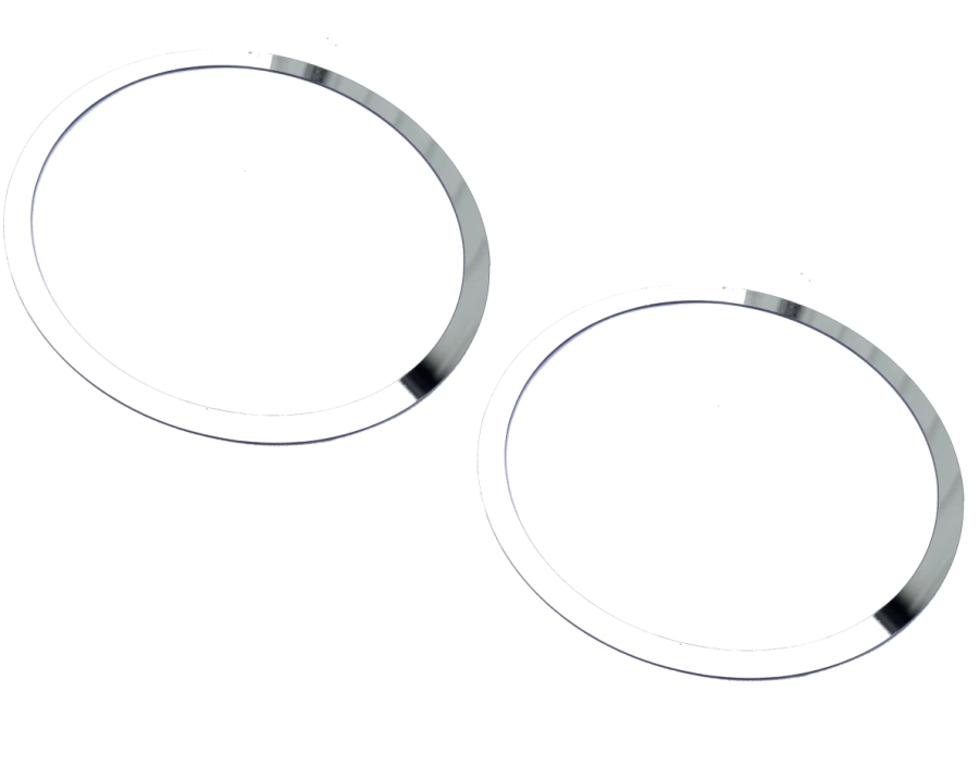 2010-2015 Camaro Stainless Steel Door Speaker Trim Rings