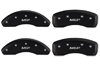 2008-2012 Honda Accord MGP Caliper Covers Matte Black