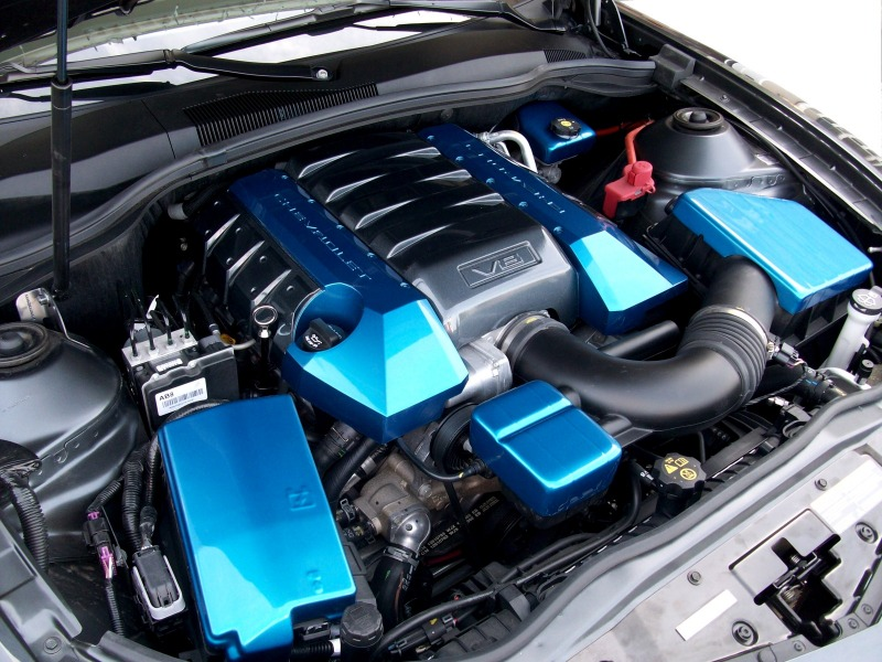 2010-2014 Camaro Painted Complete Engine Kit