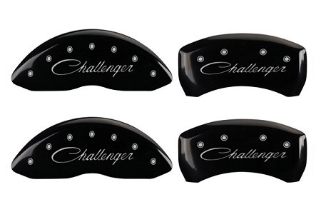 2011-2013 Dodge Challenger MGP Caliper Covers Black