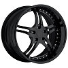 C7 Corvette 946 EXT Gloss Black Custom Wheels