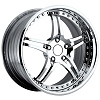 C7 Corvette 946 EXT Chrome Custom Wheels