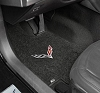 C7 Corvette Lloyd Floor Mats Logo Embroidered Ultimats