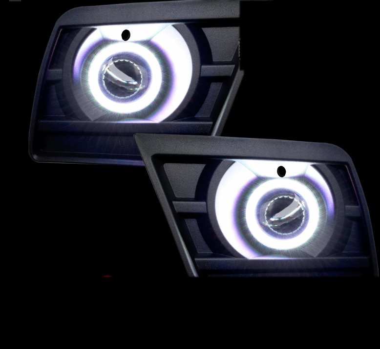 2014-2015 Camaro Water Proof Oracle LED Projector Fog Halo Kit