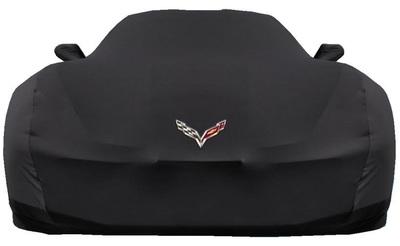 C7 Corvette Coverking MODA Stretch Car Cover-Indoor With Logo