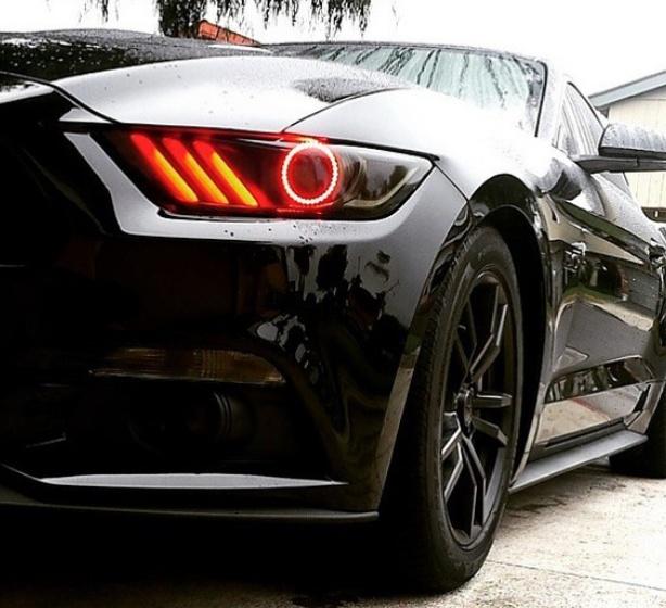 2015 2017 Ford Mustang Halo Led Headlight Kits Rpidesigns Com