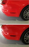 2015-2017 Ford Mustang Rear Side Marker Blackouts