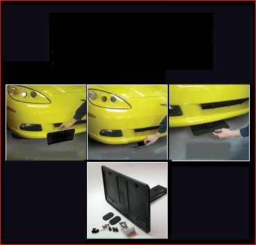 New License Plate Bracket for Ford Mustang 2015-2015 FO1068154