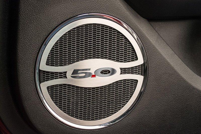 2015-2018 Ford Mustang GT \ 5.0\  Door Speaker Trim & 2015-2018 Ford Mustang GT \