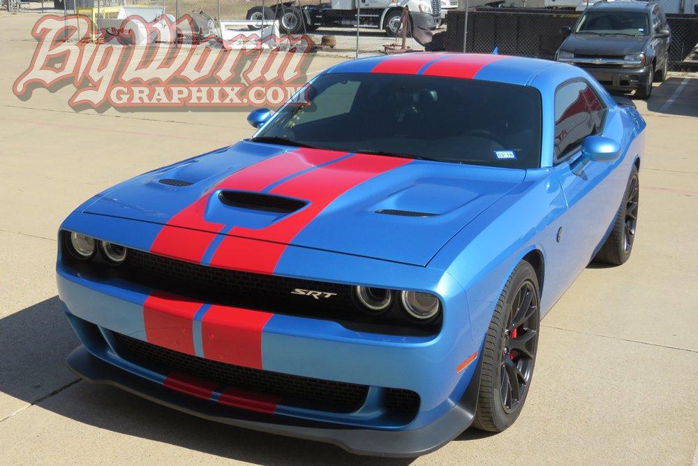 2015-2018 Dodge Challenger SRT Style Stripes - RPIDesigns.com