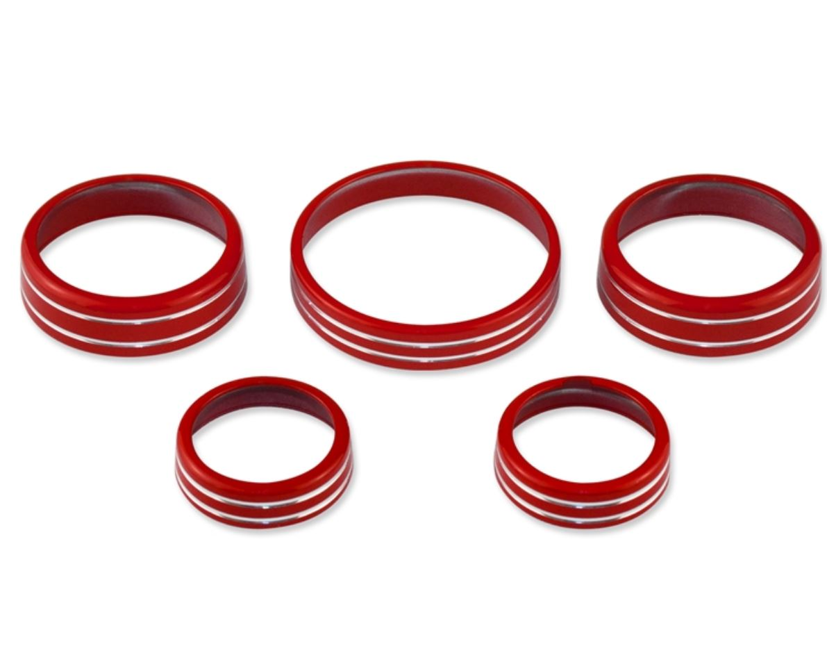 2015-2019 Ford Mustang Interior Knob Kit