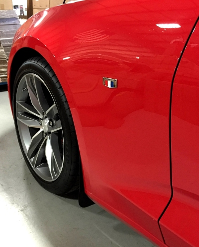 2016-2017 6th Generation Camaro Stealth Splash Guard Kit - Mud Flaps / Mud Guards