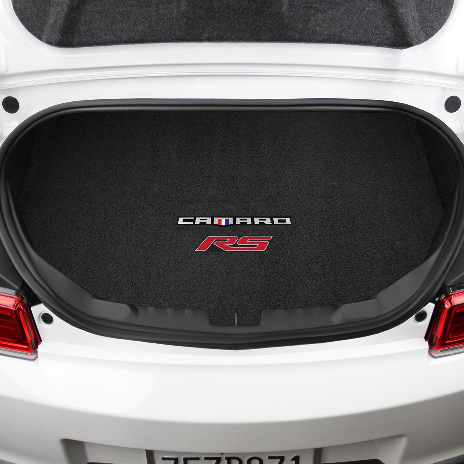 2016-2019 Camaro 6th Generation Lloyd Trunk Cargo Mat CAMARO RS Logos