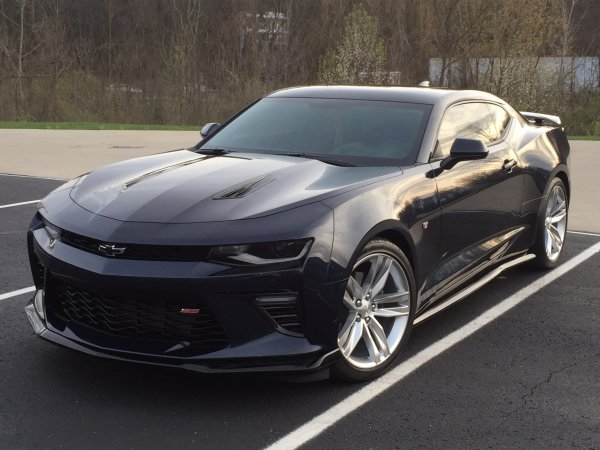 2016 2018 6th Generation Camaro Zl1 Inspired Side Skirts
