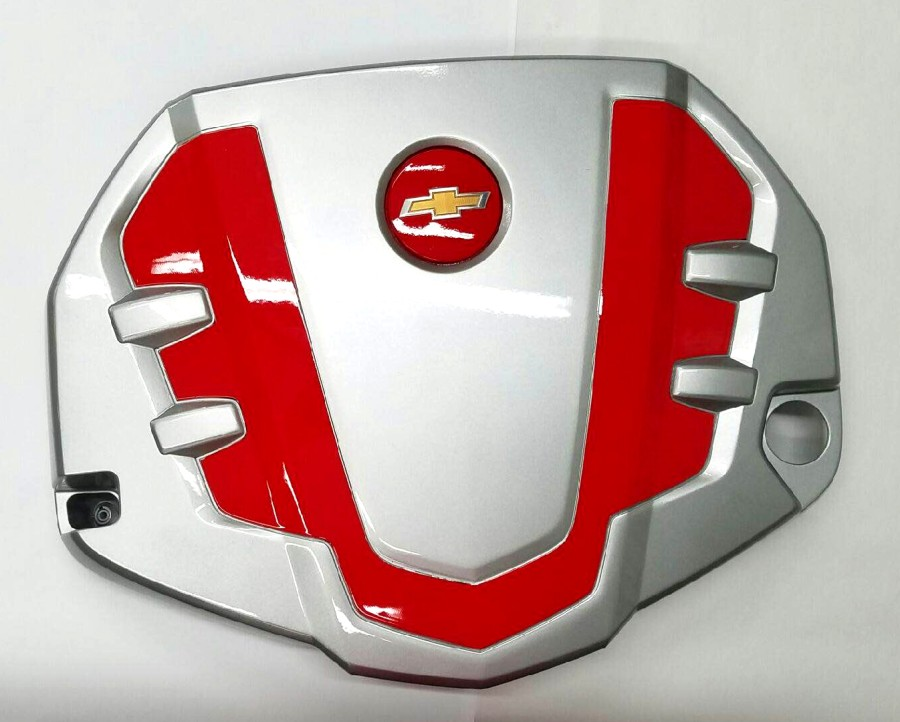 6th Generation Camaro Custom Painted V6 Engine Cover Two