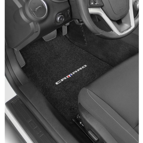 2016-2019 Camaro 6th Generation Lloyd Floor Mats CAMARO Logo