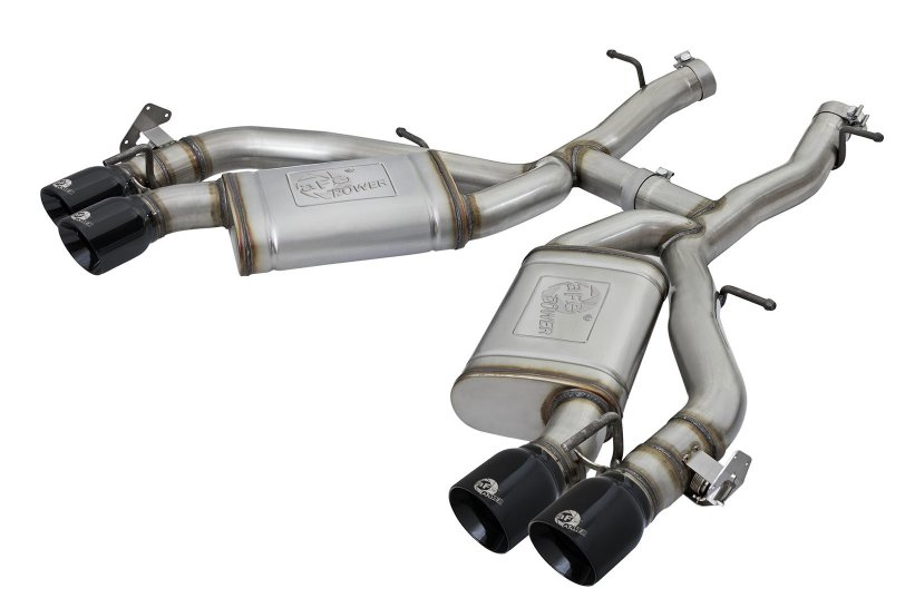 "16-18 Camaro aFe POWER MACH Force Xp 3"" 304 AxleBack exhaust 49-34068-B"