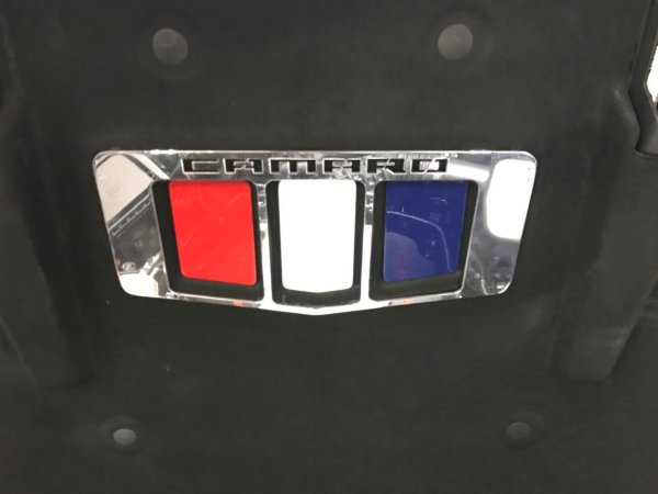 2016-2018 Camaro Under Hood Badge Inserts 4 Piece Kit