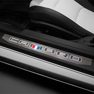 2016 2019 Camaro Illuminated Door Sill Plates For