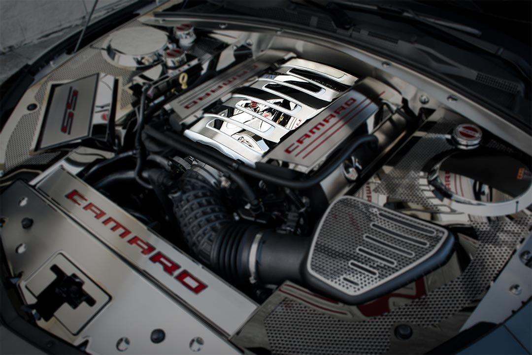 2016-2019 Camaro SS Stainless Steel Plenum Cover