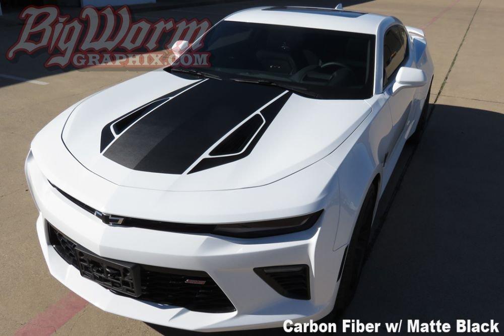 2016 2018 Camaro 50th Style Stripes Kit Rpidesigns Com