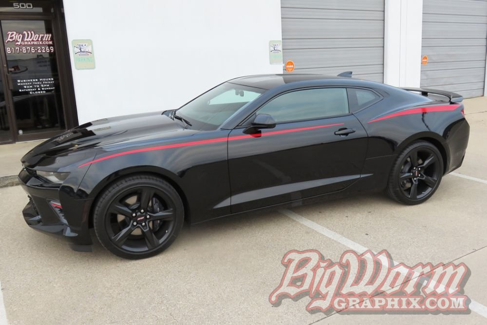2016-2019 Camaro Skinny Side Spears