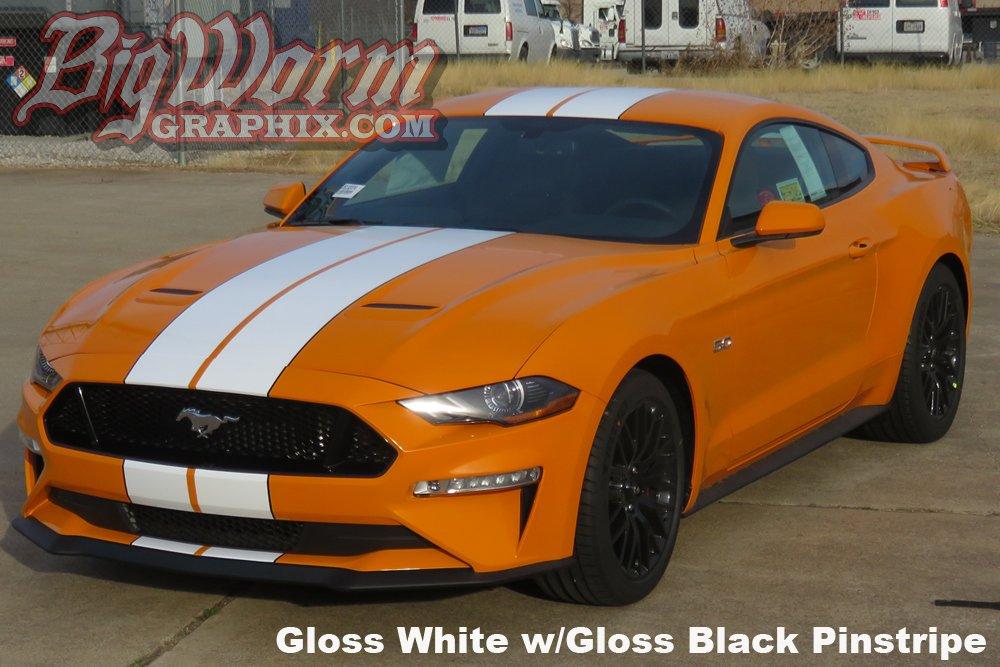 2018 Mustang Wide Dual Full Length Stripes Kit - RPIDesigns.com