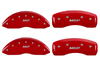 2012-2013 Honda Ridgeline MGP Caliper Covers Red