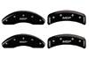 1991 BMW 318I MGP Caliper Covers Matte Black