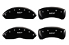 2013-2014 BMW 318I MGP Caliper Covers Black/Silver