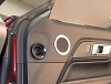 2015-2017 Ford Mustang Polished Midrange Speaker Trim Kit 2pc