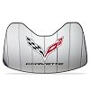 C7 Corvette Stingray Logo Accordion Style Sunshade
