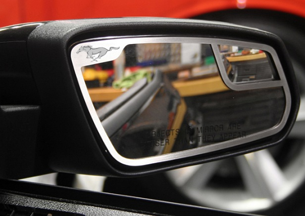 2010-2013 Mustang Side View Mirror Trim