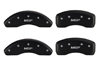 2001-2010 Chrysler PT Cruiser MGP Caliper Covers Matte Black